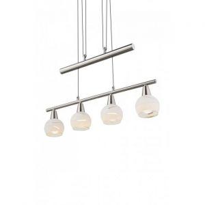 Globo Lampe suspendue ELLIOTT Nickel 54341-4Z