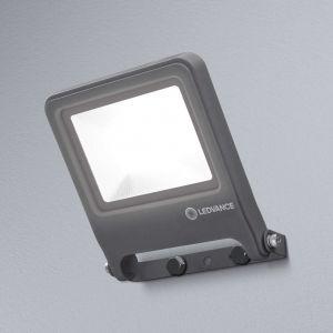 Ledvance Endura Flood LED | Projecteur Extérieur | Gris foncé | 30 Watts - 2400 Lumens | Blanc Chaud 3000K | Etanche IP65