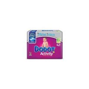 Dodot Couche Activity taille 3 (4-10 kg) - paquet de 42