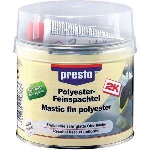 Presto Mastic fin polyester avec durcisseur 1 kg