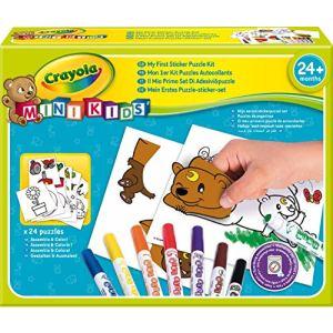 Crayola Mon premier puzzle autocollant
