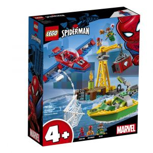 Lego Marvel 76134 - Spider-Man : Docteur Octopus et le vol du diamant