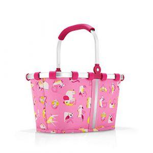 Reisenthel Carrybag XS Kids ABC Friends Pink Sac de Sport Grand Format 34 Centimeters 5 Rose