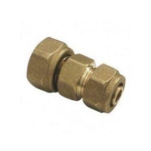 Mr Plomberie Raccord a compression laiton a ecrou tournant - per 20/25 - ecrou 20/27