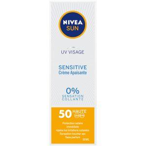 Nivea Uv visage sensitive - crème apaisante