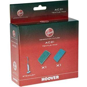 Hoover AC21 - 2 lingettes pour nettoyeur balai vapeur steamjet