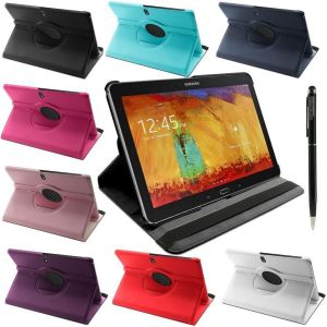 Housse Coque Rotative 360 Etui Tablette Samsung - Bleu Nuit / Galaxy Tab 3 10.1 P5200