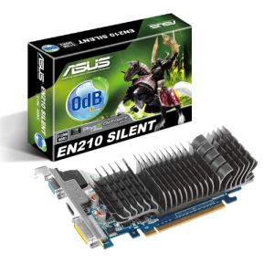Asus EN210 SILENT/DI/1GD3(LP) - Carte graphique GeForce 210 Silent 1 Go GDDR3 PCI-E 2.0