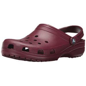 Crocs Classic, Sabots Mixte Adulte, Marron (Garnet), 37-38 EU