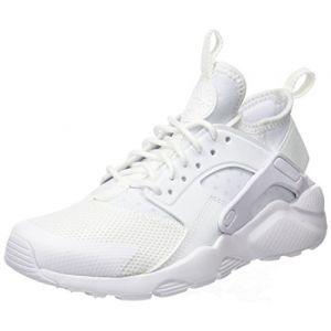 Nike Air Huarache Run Ultra (GS), Baskets garçon, Blanc White, 38 EU