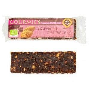 Gourmie's Barre bio Souvenirs d'enfance - amandes, épices - 35 g
