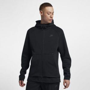 Nike Sweat à capuche entièrement zippé Sportswear Tech Fleece pour Homme - Noir - Taille L