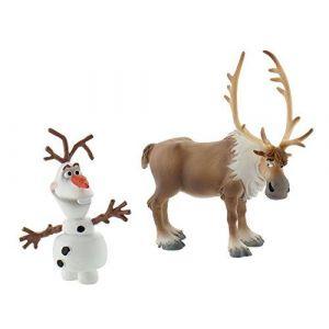 Bullyland 13061 - Figurine - Reine de neige - Mini Olaf et Sven