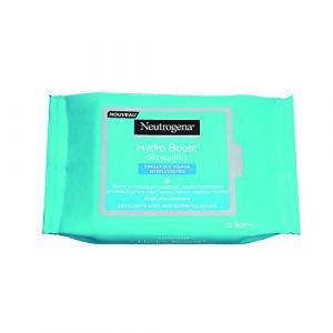 Neutrogena Hydro Boost - Lingettes hydratantes démaquillants pour visage