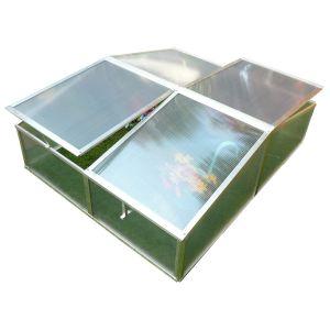 Viva Green Rosa - Mini serre de jardin ou balcon polycarbonate 1,19 m²