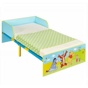 Worlds Apart Lit pour enfant premium Winnie l'Ourson (143 x 77 x 43 cm)