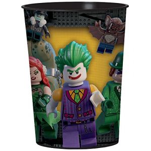Gobelet plastique Lego Batman 473 ml