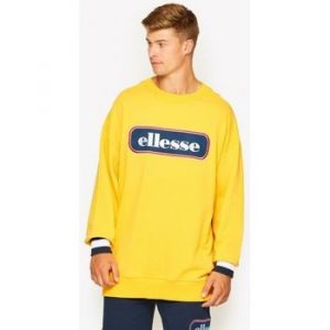 ELLESSE Sweat-shirt Heritage Sweat crew DURONO jaune - Taille EU M