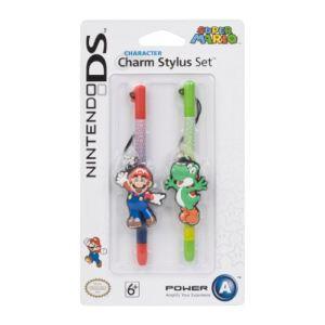 BD et A 2 Stylets Mario / Yoshi pour Nintendo DS