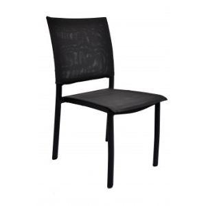 Residence Chaise de jardin Mori en aluminium et textilène