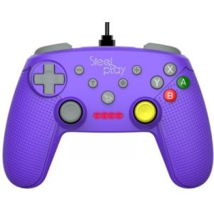 Steelplay Manette filaire pour Nintendo Switch - violet