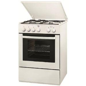 Faure FCM660N - Cuisinière mixte 3 foyers gaz et four électrique 58 L