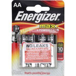 Energizer Piles Max AA - Lot de 4,