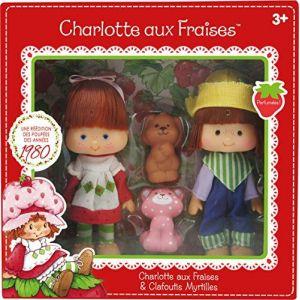 Kanaï Kids Poupées Charlotte aux Fraises et Clafoutis Myrtilles