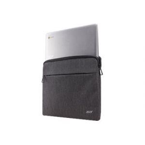 """Acer Protective Sleeve - Housse d'ordinateur portable - 14"""" - gris foncé deux tons - pour Chromebook Spin 13, Spin 3, Swift 3, 7, TravelMate P2410, TravelMate X TMX3410, TMX514"""