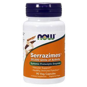 Now Foods Cardio vasculaire Serrazimes