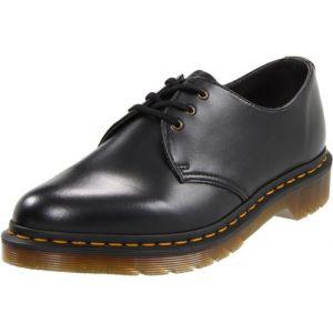 d7cb12df4f803 Dr. Martens 1461 Vegan 14046001, Chaussures de ville mixte adulte - Noir  black,