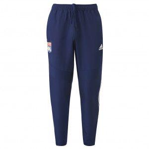 Adidas Pantalon de survêtement Bleu marine Adulte OL 19/20 - Taille - S