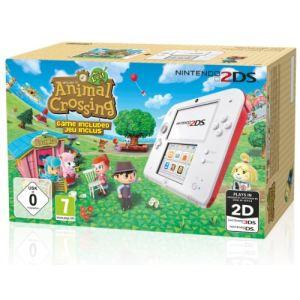 Nintendo 2DS - La console + le jeu Animal Crossing