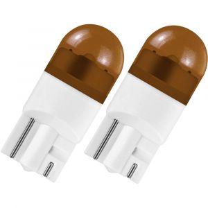 Osram Ampoule LED pour lhabitacle Auto 2855YE LED Retrofit WY5W 12 V W2.1x9.5d (Ø x L) 10 mm x 27 mm 1 paire