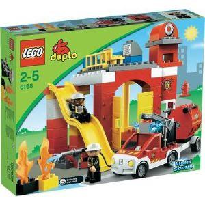 Duplo 6168 - Ville : La caserne des pompiers