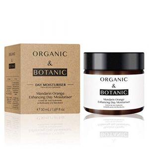 Organic & Botanic Crème hydratante de jour rehaussant l'orange mandarine