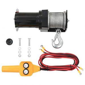 VidaXL Treuil Électrique 907 kg Télécommande Filaire Auto Bateau Outil Garage