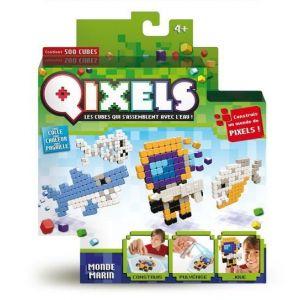 Kanaï Kids Mini Kit 4 créations Qixels : Monde marin