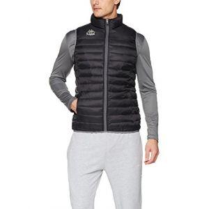 Kappa Drezzo Padded Sleeveless Jacket - Black - Taille S