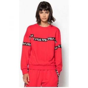 FILA Sweat-shirt Sweat crew CLARITY rouge - Taille EU L