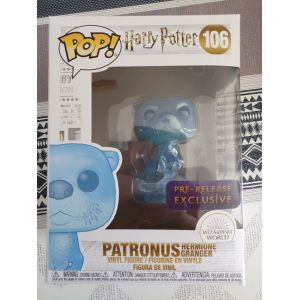 Funko Harry Potter - Patronus Hermione Pop! + Pop Protector