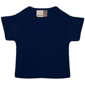 Promodoro T-shirt bébé en coton Enfants, 56/62, bleu marine