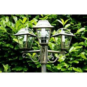 Philips Lampadaire d'extérieur Babylon 3 x 60W E27 - Noir 154254210