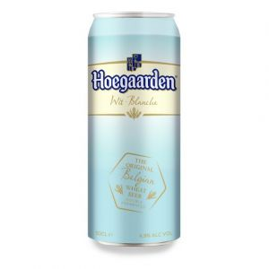 Hoegaarden Bi{re blanche originale, aromatis{e aux {pices - La boîte de 50cl
