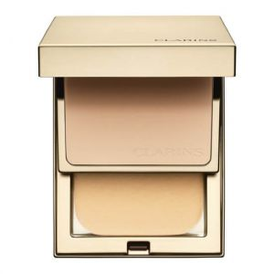 Clarins Everlasting Compact 112 Ambre - Fond de teint haute tenue & Confort SPF 9