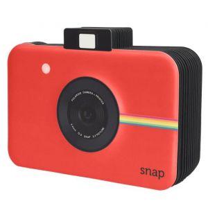 """Polaroid PL2X3SBSNAPR Album scrapbooking - Look - Rouge - 13 pages en aggloméré noires (9x5.5 """") - Peut contenir des photos de format - 2x3 """""""
