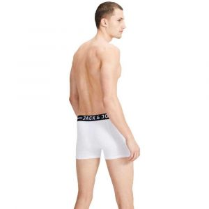 Jack & Jones Vêtements intérieurs Jack---jones Sense Trunks 3 Pack - White - M