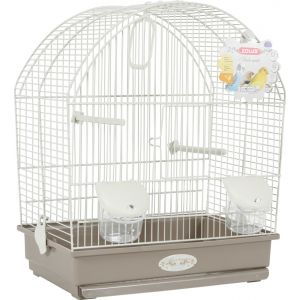 Zolux Cage arabesque Salomée 40 cm Taupe