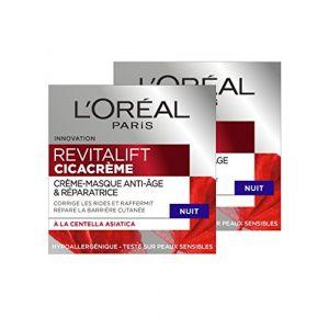 L'Oréal Revitalift Cicacrème - Crème-masque anti-âge nuit