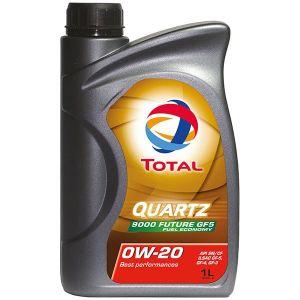 Total Huile Moteur 0W20 Quartz 9000 Future Gf5 1L